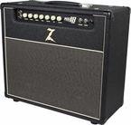 Dr. Z Maz 18 Jr Reverb Combo in Black w/ Salt & Pepper Grill