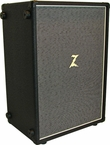 Dr. Z Z-Best 2x12 Cab in Black w/ Salt and Pepper Grill