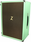 Dr. Z Z-Best 2x12 Cab in Surf Green