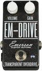 Emerson Custom EM-Drive Overdrive Pedal in Grey Starburst