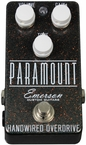 Emerson Custom Paramount Overdrive Pedal in Grey Starburst