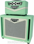 Jackson Ampworks Britain 30 Head & Cab in Surf Green