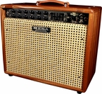 Mesa Boogie Express Plus 5:50 Combo - Custom Mahogany w/ Wicker