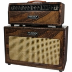 Mesa Boogie Mark V Custom Head & 1x12 Cab - Private Reserve Flamed French Walnut