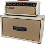 Mesa Boogie Mark V Custom Head / Horizontal Cab - Cream Bronco
