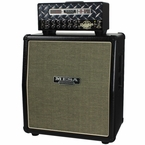 Mesa Boogie Mini Rectifier Head & Cab in Black with Black & Cream Grill