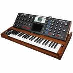 Moog Minimoog Voyager Select Blue - Tiger Oak #2396