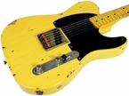 Nash E-52 Guitar, Butterscotch Blonde, Medium Distress