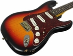 Nash S-63 Guitar, 3-Tone Sunburst