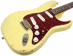 Nash S-63 Guitar, Cream, Tortoise, Flamed Maple Neck
