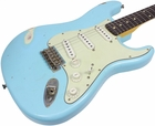 Nash S-63 Guitar, Sonic Blue, Light Distress