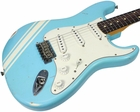 Nash S-63 Guitar, Sonic Blue - Competition Stripes