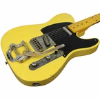 Nash T-52 Guitar, Butterscotch Blonde, Bigsby