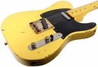 Nash T-52 Guitar, Butterscotch Blonde, Medium Distress