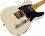 Nash T-52 Guitar, Mary Kaye White, Medium Distress