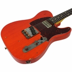 Nash T-63 Guitar, Gretsch Orange, LollarTron Neck