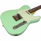 Nash T-63 Guitar, Light Sea Foam Green