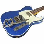 Nash TC-63 Guitar, Lake Placid Blue, Bigsby, Lollartron