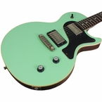 Nik Huber Krautster II Guitar - Surf Green - Black