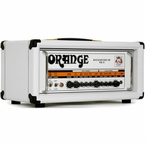 Orange Rockerverb 100 MKII Head in Limited White
