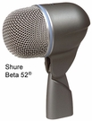 Shure Beta 52 Dynamic Microphone