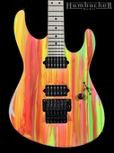 Suhr 80s Shred Guitar - Neon Drip - Maple