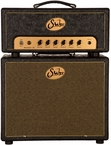 Suhr Badger 18 Head w/ 1x12 Cab - Black Western