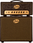 Suhr Badger 18 Head w/ 1x12 Cab - Brown Western