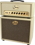 Suhr Badger 30 Head w/ 1x12 Cab - Cream