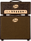 Suhr Badger 35 Head w/ 1x12 Cab - Brown Western