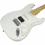 Suhr Classic Pro HSS Guitar - Maple, Olympic White
