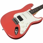 Suhr Classic Pro HSS Guitar - Rosewood, Fiesta Red