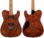Suhr Classic T - Burl Redwood - Birdseye Maple