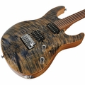 Suhr Modern Burl Maple Guitar - Trans Blue Tint