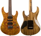 Suhr Modern Set Neck - Burl Maple - Black Limba