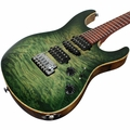 Suhr Modern Waterfall Burl Maple HSH - Trans Green