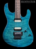 Suhr Pro M5 Guitar in Trans Sky Blue Burst
