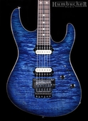 Suhr Pro M5 Guitar in Trans Whale Blue Burst