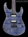 Suhr Pro Custom Modern Guitar - Trans Blue Denim Slate