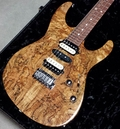 Suhr Pro M7 Guitar - Spalted Maple - Natural