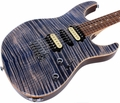 Suhr Pro M7 Guitar - Swamp Ash - Trans Blue Denim