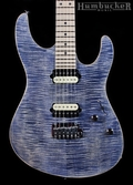 Suhr Pro M8 Guitar - Trans Blue Denim Slate