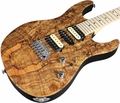 Suhr Pro M8 Guitar - Spalted Maple - Natural