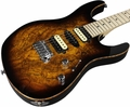 Suhr Pro M8 Guitar - Spalted Maple - Tobacco Burst