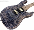 Suhr Pro M8 Guitar - Swamp Ash - Trans Blue Denim Slate