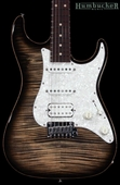 Suhr Pro S3 Guitar - Swamp Ash - Charcoal Burst