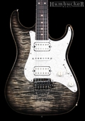 . Suhr Pro S3 Guitar - Swamp Ash - Charcoal Burst
