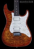 Suhr Pro S3 Guitar - Swamp Ash - Copperhead Burst