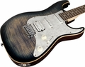 . Suhr Pro S3 Guitar - Swamp Ash - Faded Trans Whale Blue