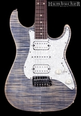 Suhr Pro S3 Guitar - Swamp Ash - Trans Blue Denim Slate